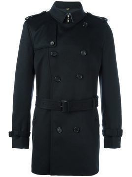 Burberry double breasted coat - Blue
