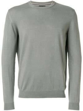 Jacob Cohen - crew neck sweater - Herren - Cotton - M - Grey