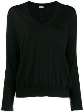 Malo v-neck jumper - Black