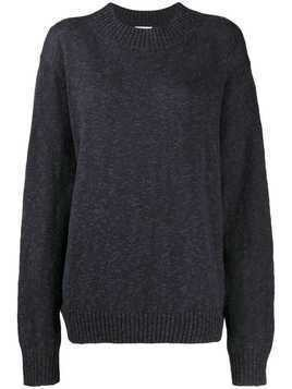6397 knitted jumper - NAVY