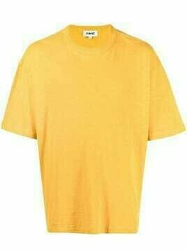 YMC Triple crew-neck T-shirt - Yellow