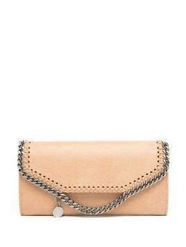 Stella McCartney Falabella continental wallet - Neutrals