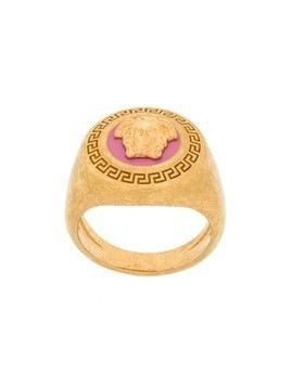 Versace Medusa medallion ring - GOLD