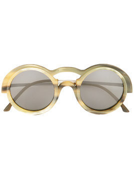 Rigards genuine horn sunglasses - Nude & Neutrals