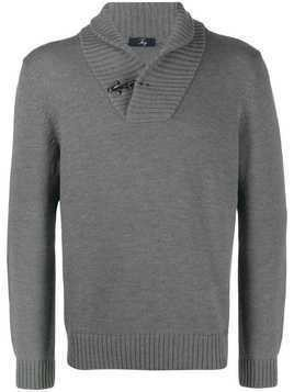 Fay knitted jumper - Grey