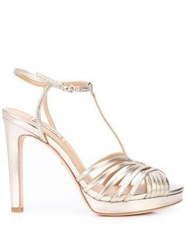 Badgley Mischka Angelica strappy sandals - Gold