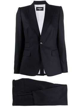 Dsquared2 pinstripe single-breasted suit - Blue
