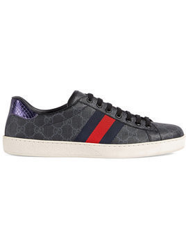 Gucci - Ace GG Supreme sneaker - Herren - Canvas/rubber - 9.5 - Black