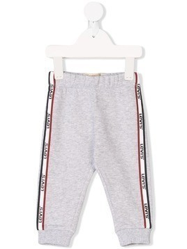 Levi's Kids logo stripe track pants - Grey