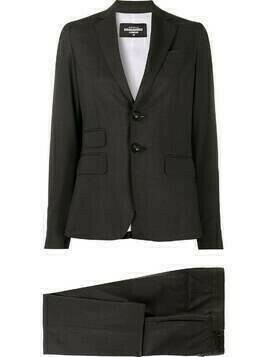 Dsquared2 single-breasted trouser suit - Grey