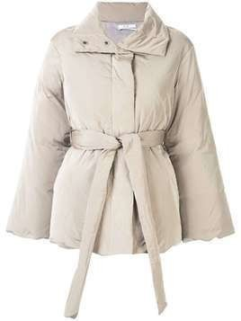 Co belted puffer jacket - Grey