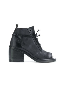 Marsèll open lace-up boots - Black