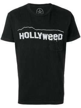 Local Authority Hollyweed T-shirt - Black