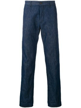 Fortela straight leg trousers - Blue