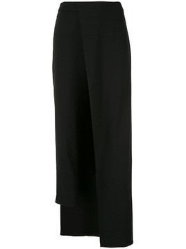 Hellessy fitted trousers with overskirt - Black