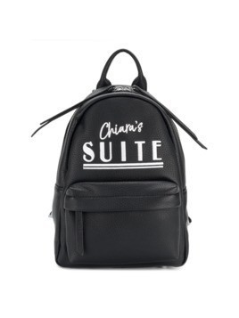 Chiara Ferragni logo print backpack - Black