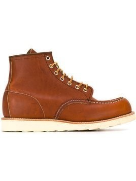Red Wing Shoes 'Inch Mock' boots - Brown