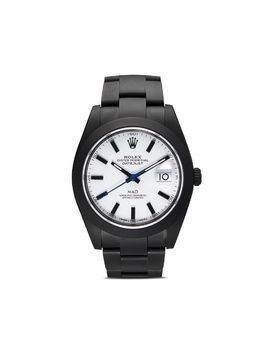 MAD Paris black and white datejust II watch