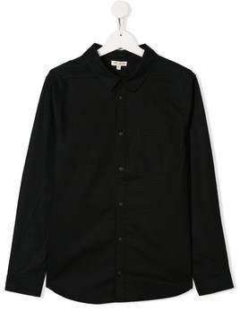 Kenzo Kids dragon detail shirt - Black