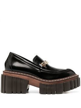 Stella McCartney Emilie platform loafers - Black