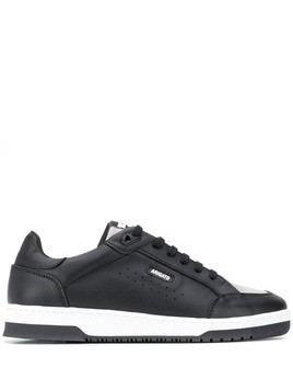 Axel Arigato lace-up colour block sneakers - Black