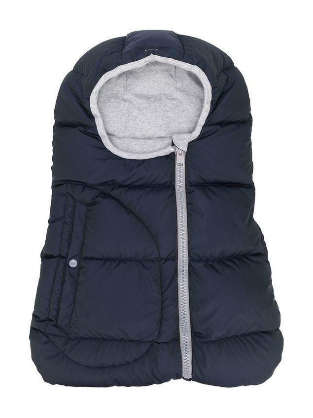 Herno Kids padded zipped nest - Blue
