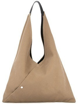 Cabas Triangle tote - Green