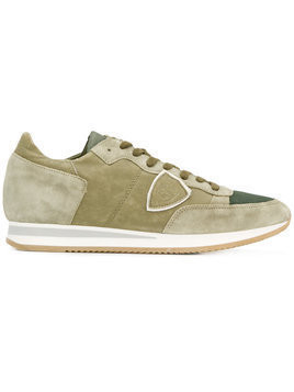 Philippe Model - Tropez sneakers - Herren - Cotton/Leather/Suede/rubber - 46 - Green