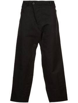 Jan Jan Van Essche cropped flared trousers - Black