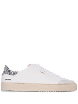 Axel Arigato colourblock low-top sneakers - White