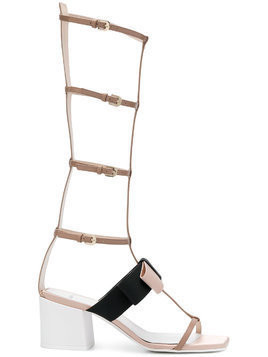 Lanvin gladiator bow sandal - Nude & Neutrals