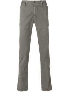 Incotex - slim-fit chinos - Herren - Cotton/Spandex/Elastane - 35 - Grey