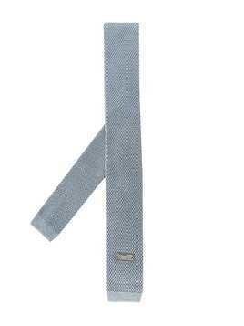 Emporio Armani Kids knitted neck tie - Blue