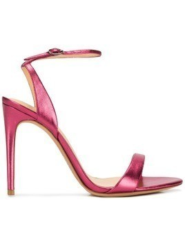 Alexandre Birman Willow 100 metallic sandals - Pink