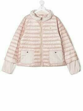 Herno Kids TEEN quilted down-padded jacket - Pink