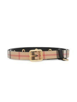 Burberry Kids D-ring belt - Black