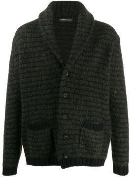Lamberto Losani knitted long-sleeve cardigan - Green