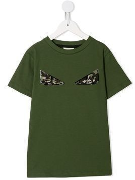 Fendi Kids Bag Bug T-shirt - Green