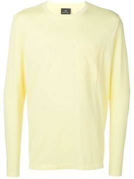 PS Paul Smith long-sleeve T-shirt - Yellow