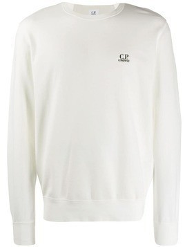 CP Company long sleeved sweater - White