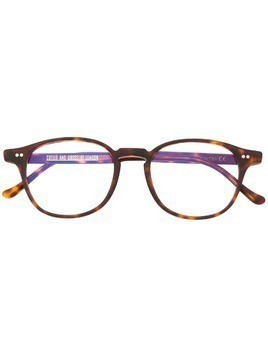 Cutler & Gross wayfarer frame glasses - Brown