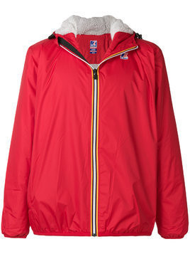 K-Way shell jacket - Red