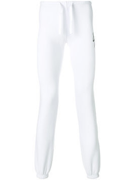 Local Authority slim fit track pants - White