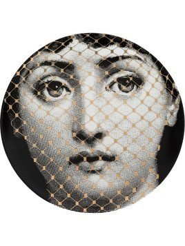 Fornasetti face T&V wall plate - Grey