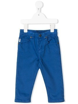 Paul Smith Junior slim-fit pull-on jeans - Blue