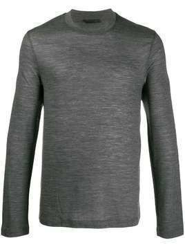 Helmut Lang long-sleeve T-shirt - Grey