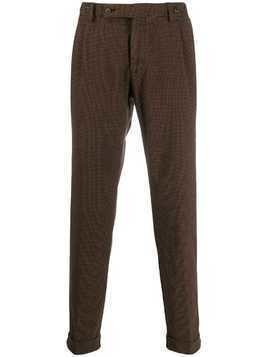 Berwich slim-fit tailored trousers - Brown