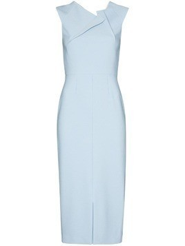 Roland Mouret Tikal midi dress - Blue