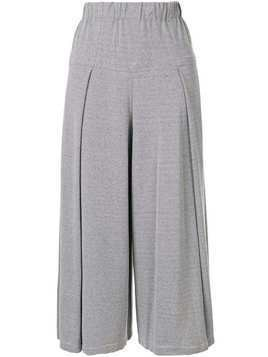 Issey Miyake Cauliflower Washi cropped trousers - Grey