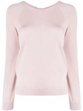P.A.R.O.S.H. knitted long sleeve top - PINK